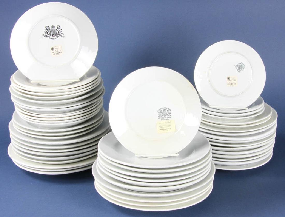 Group of Antique Ironstone Plates - 2