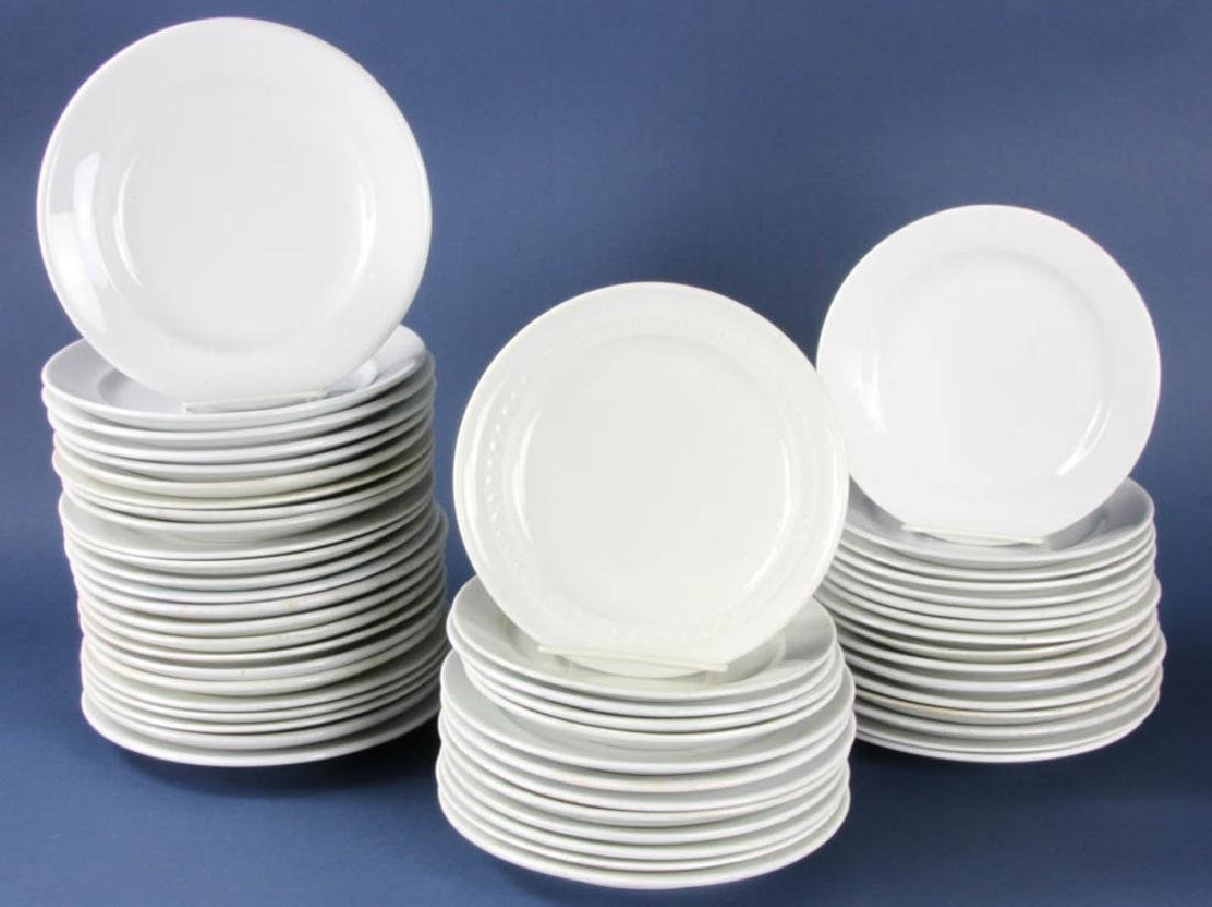 Group of Ironstone Plates