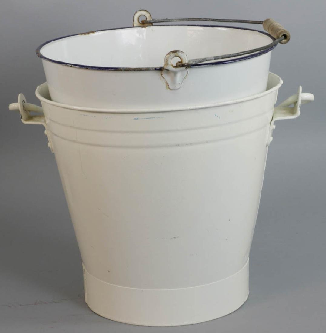 Group of Assorted Tin Pails - 2