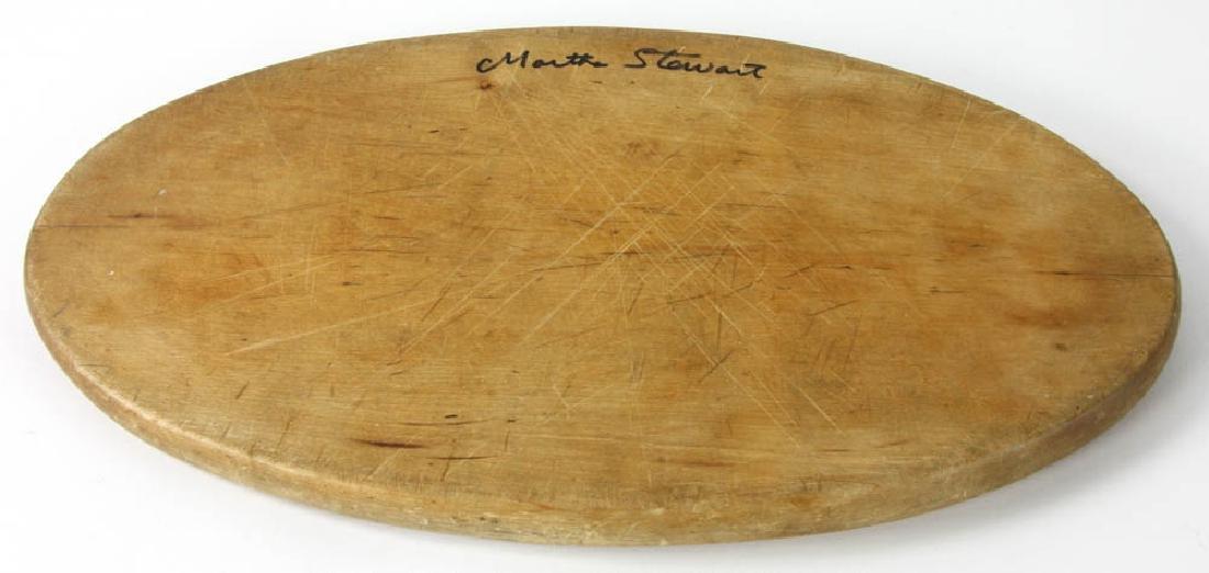 Signed Martha Stewart Cutting Board