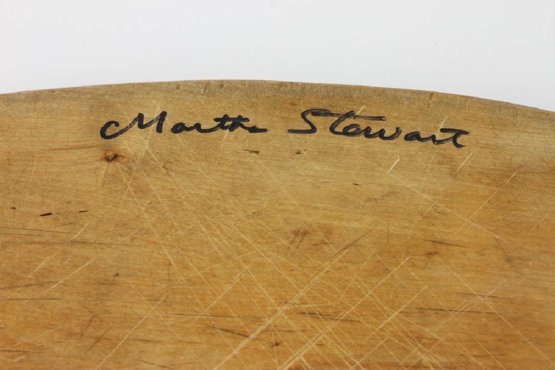 Signed Martha Stewart Cutting Board - 2