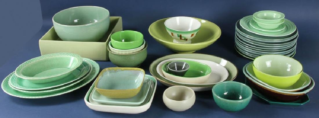 Collection of Plates, Platters, Bowls