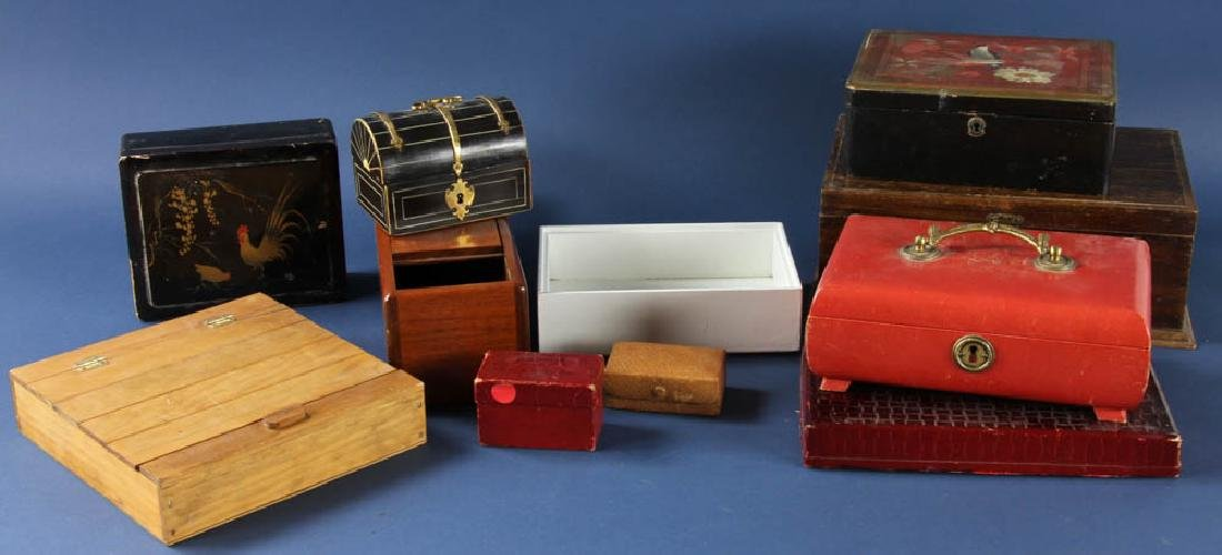 Group of Jewelry and Decorative Boxes