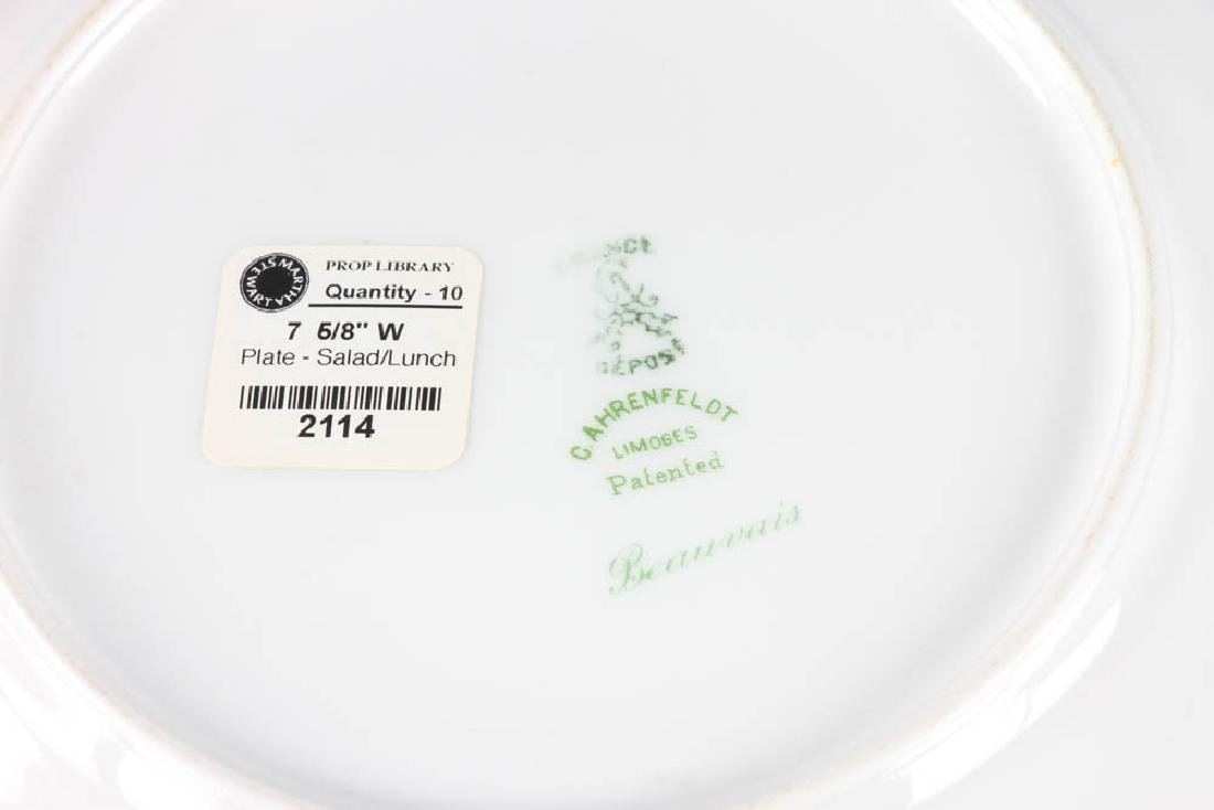 Group of Limoges Beauvais Plates - 3