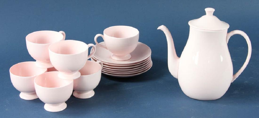 Wedgwood Pink Bone China Tea Set
