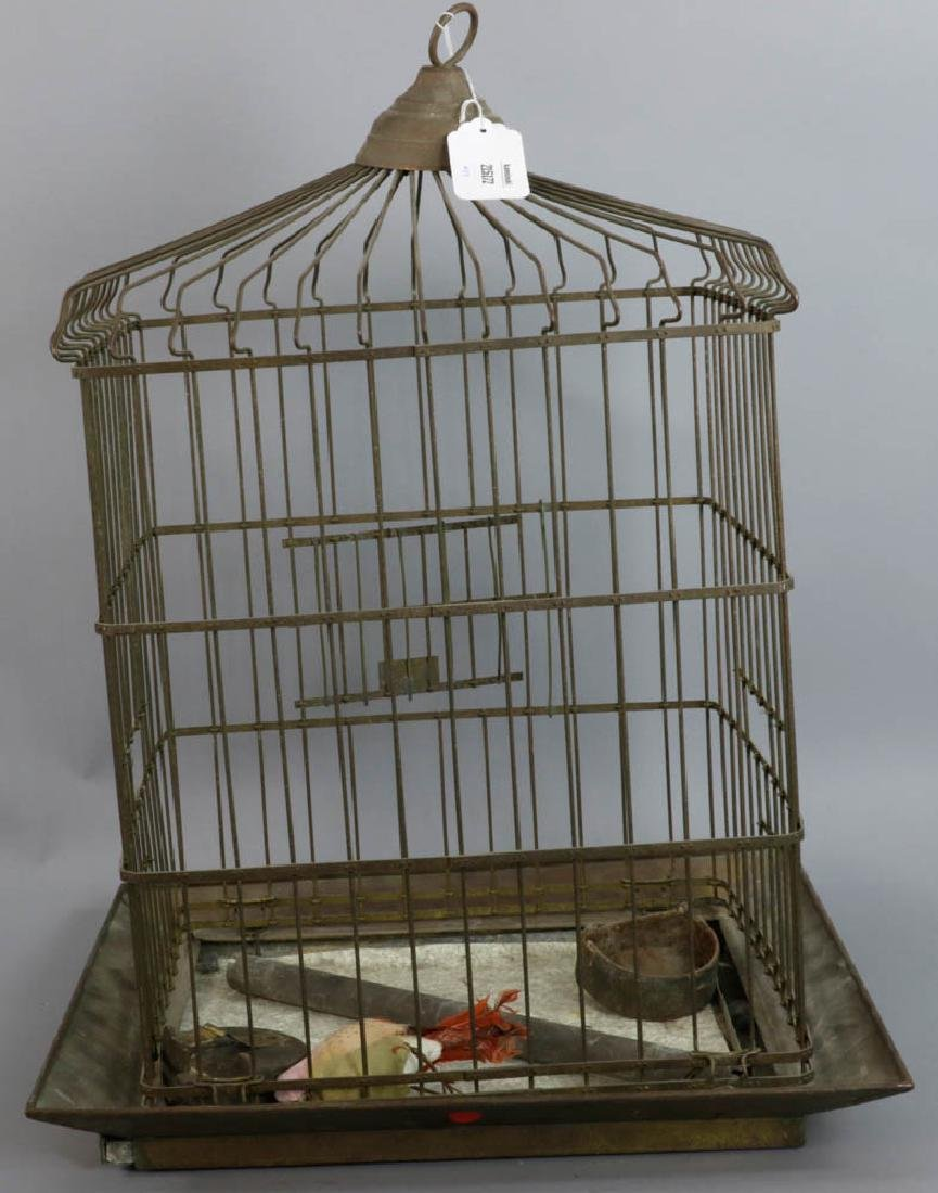 Copper Birdcage