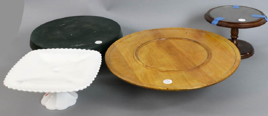 Group of Four Cake Stands