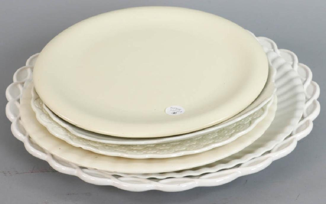 Group of Large Serving Trays, Platters
