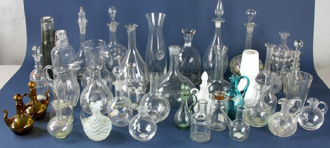 Glass Decanters and Carafes
