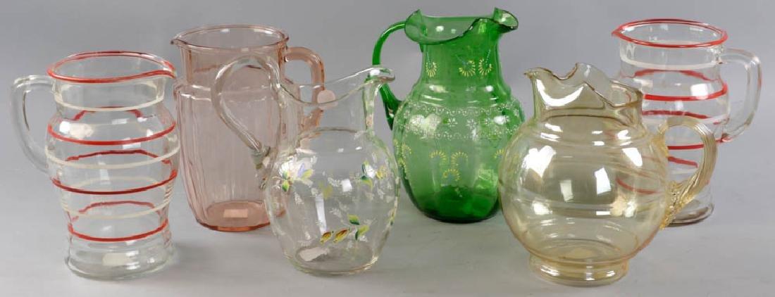 Vintage Glass Pitchers