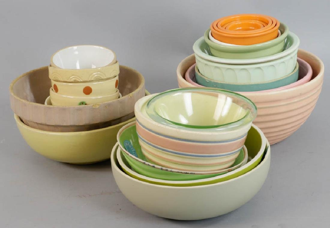 Collection of Assorted Mixing Bowls - 3
