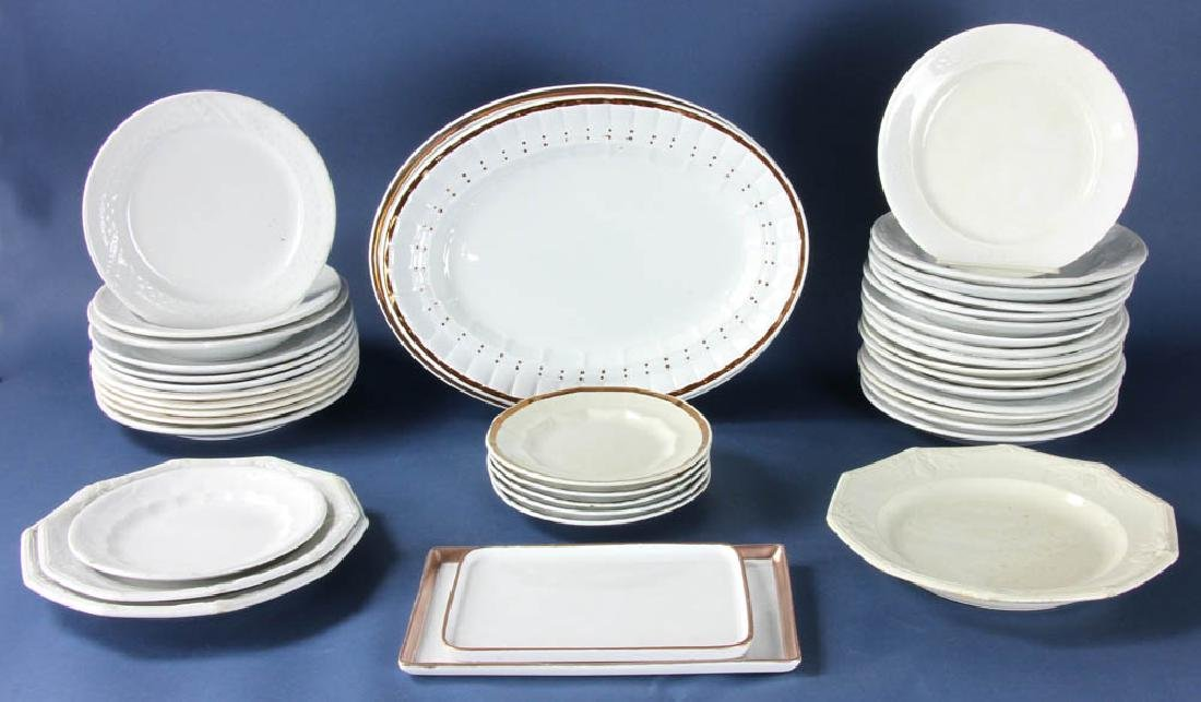 Collection of 19thC English Ironstone Ware