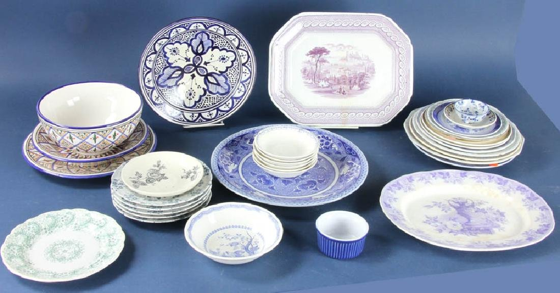 Collection of Vintage Dishes, Bowls