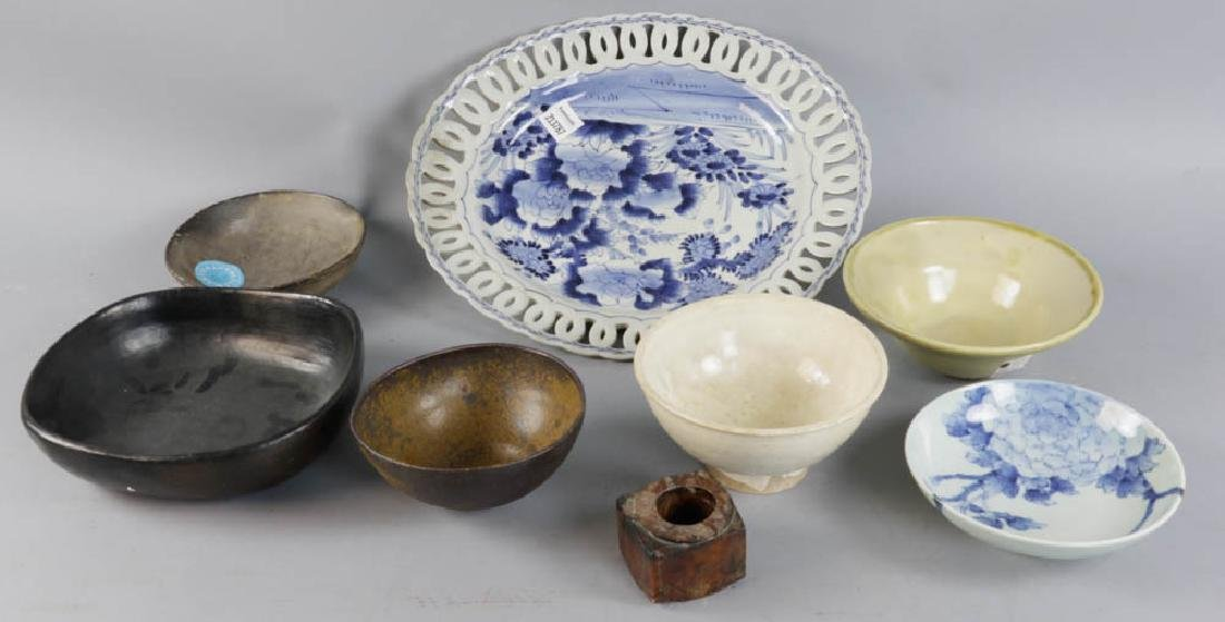 Group of Vintage Asian Bowls