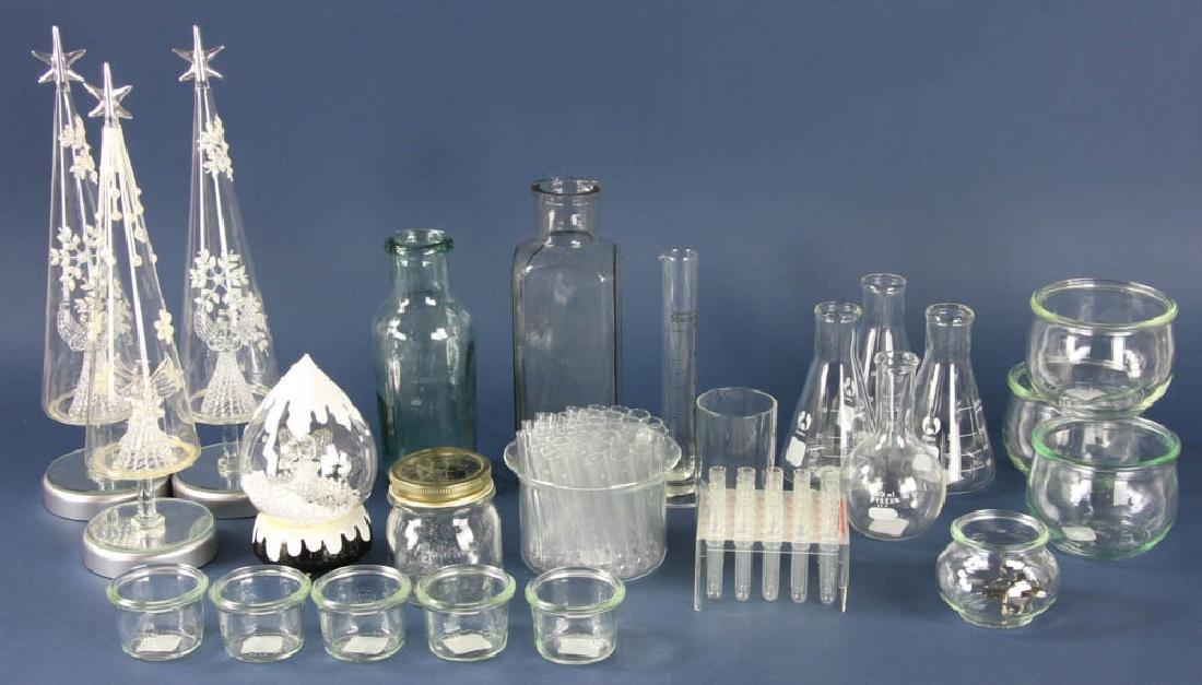 Assorted Glassware, Bowls, Accessories