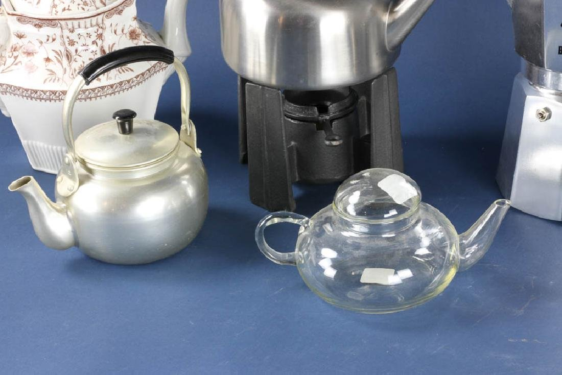 Collection of Assorted Teapots, Coffee Pots - 3