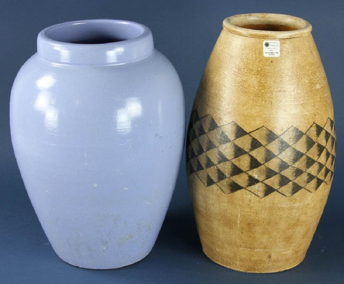 Two Pottery Vases - 3