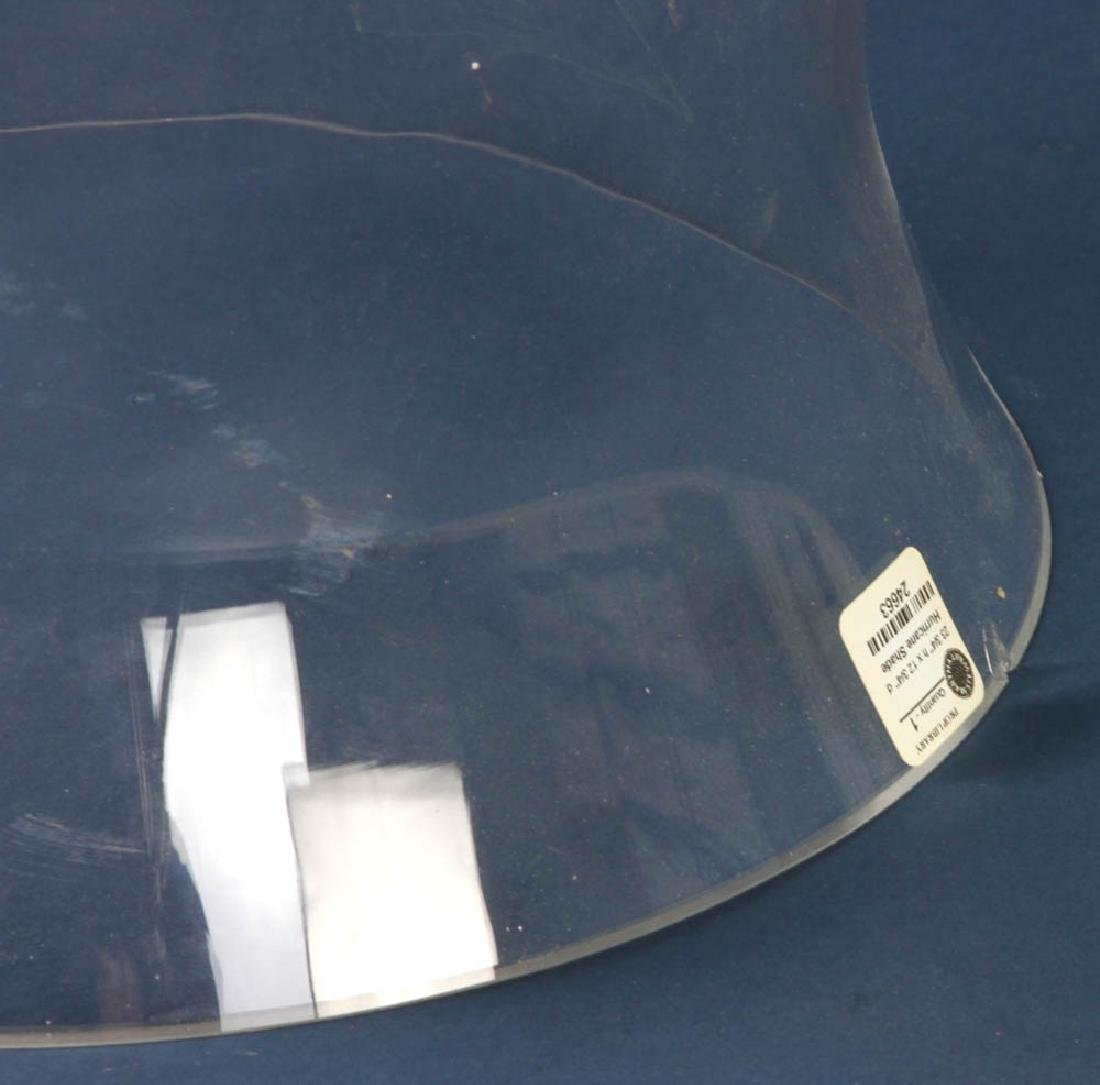 Colorless Glass Hurricane Shade - 2