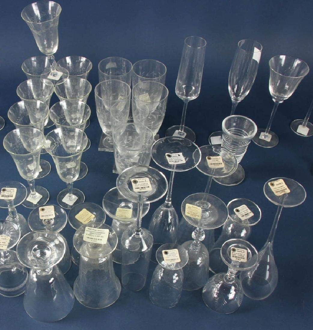 Colorless Glass Stemware - 2