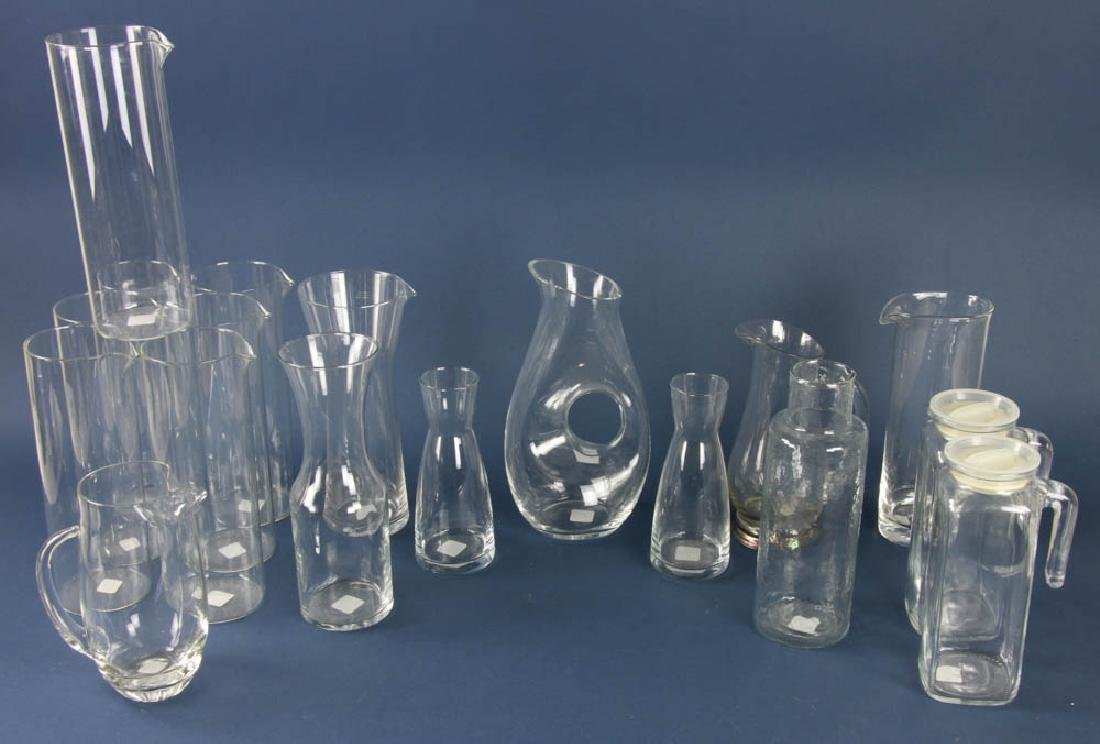 Collection of Glass Carafes