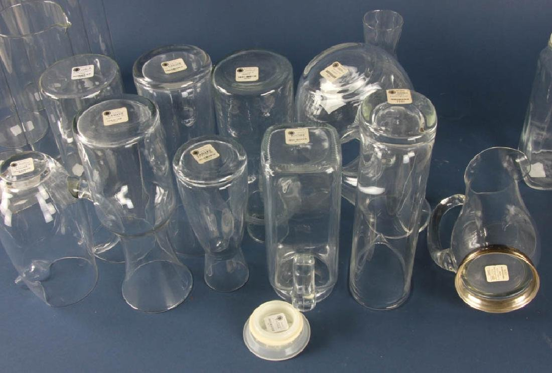 Collection of Glass Carafes - 2