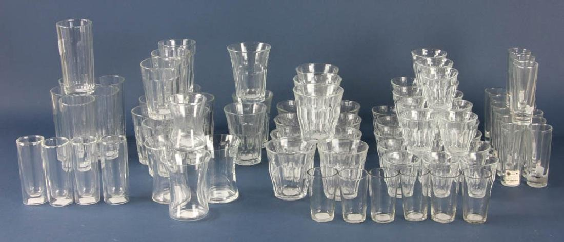 Assortment of Colorless Glass