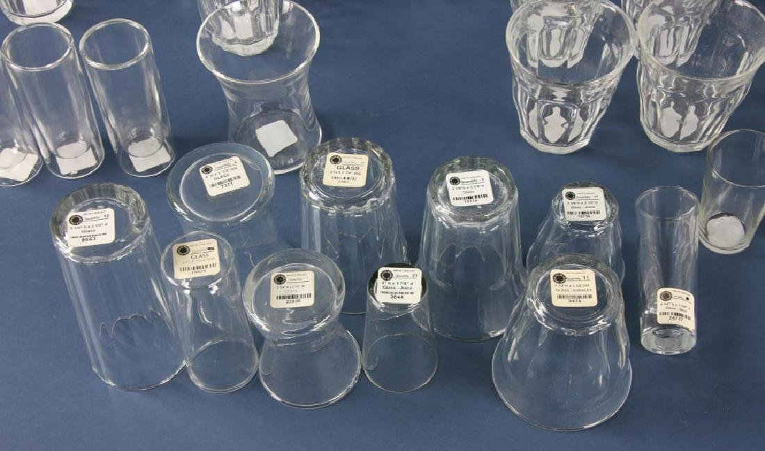 Assortment of Colorless Glass - 3
