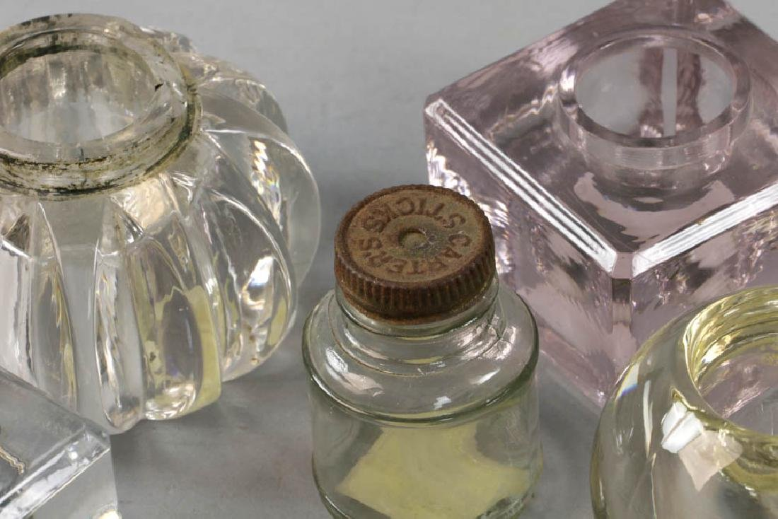Collection of Inkwells and Ink Bottles - 3