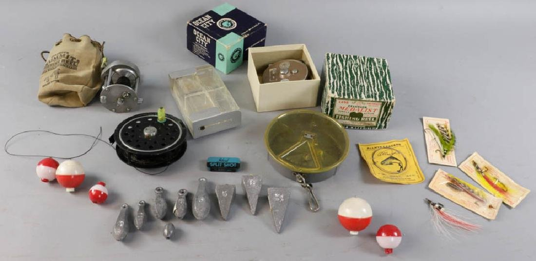 Fishing Items, Reels, Weights