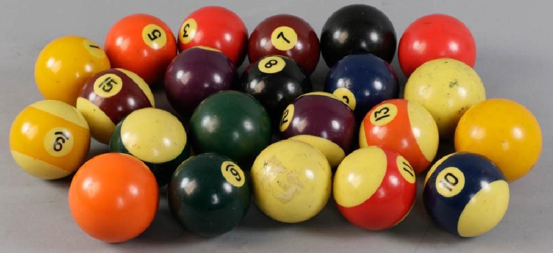 Group of Billiard Balls