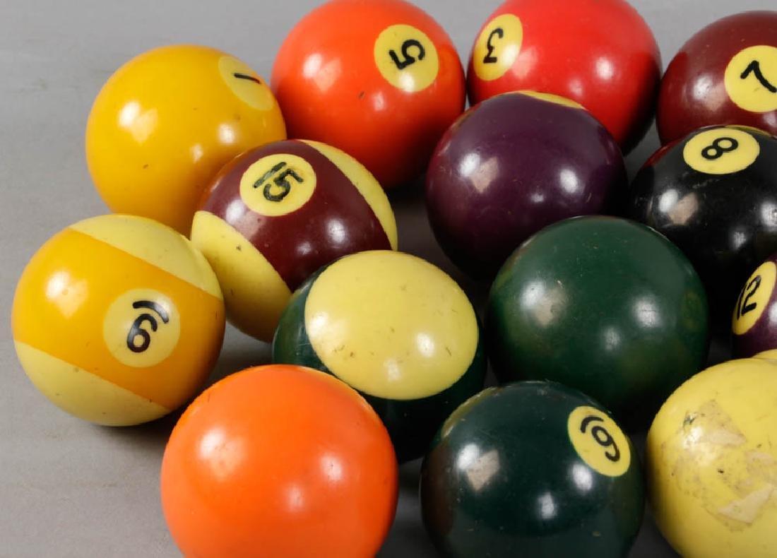 Group of Billiard Balls - 3