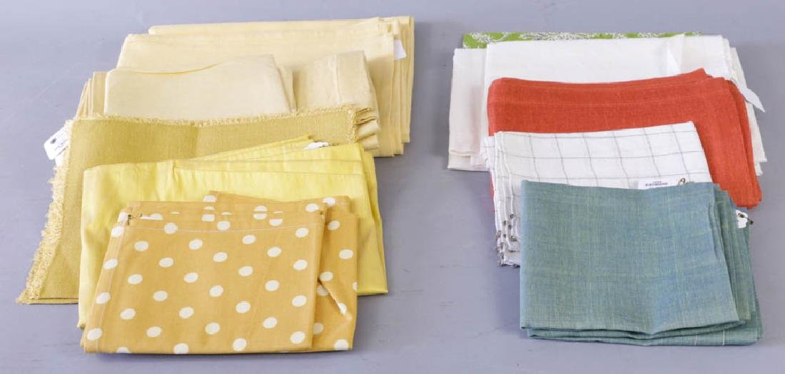 Assortment of Table Linens