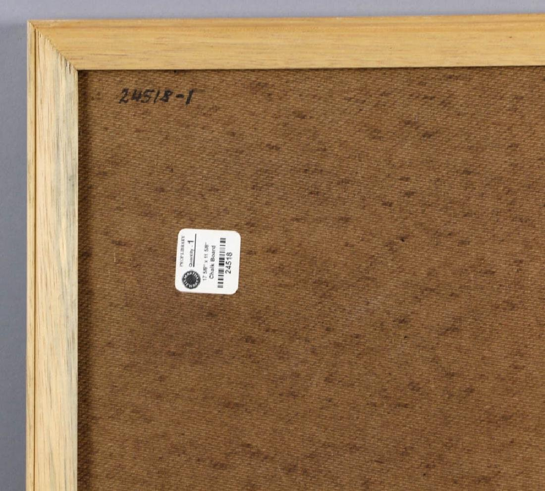 Collection of Picture Frames, Chalk Boards - 3