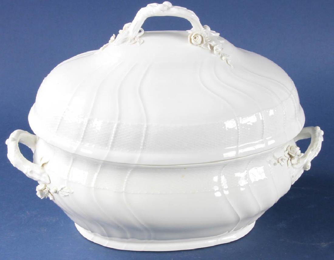 Antique KPM Covered Tureen