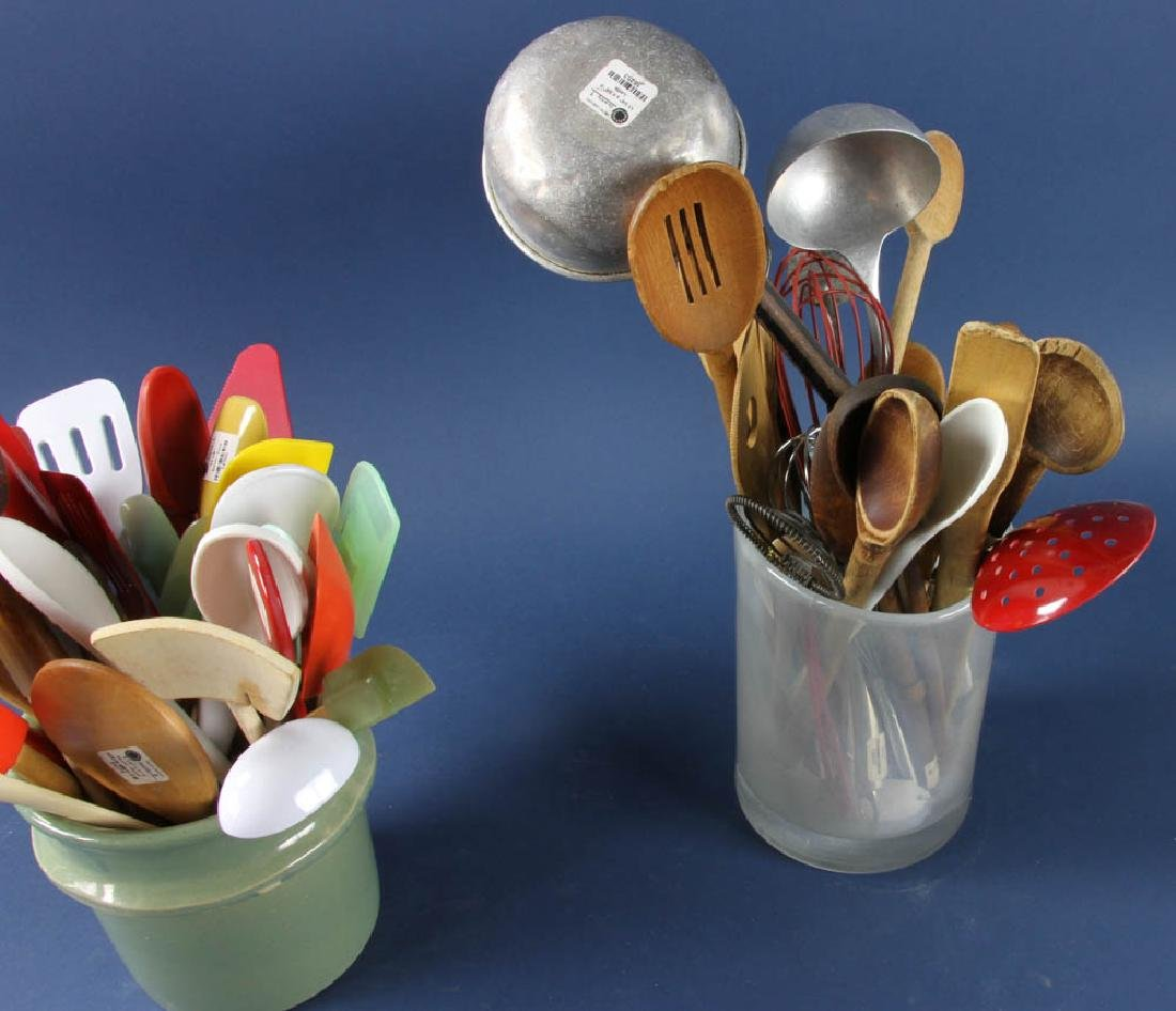 Assorted Antique and Vintage Utensils - 3