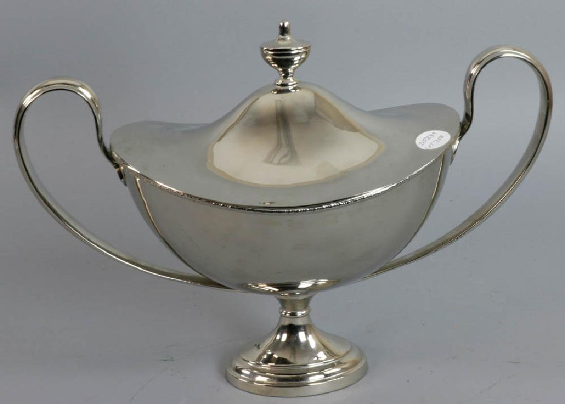English Silverplate Covered Serving Piece