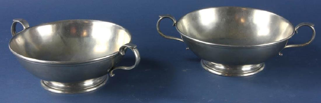 Two Italian Pewter Bowls