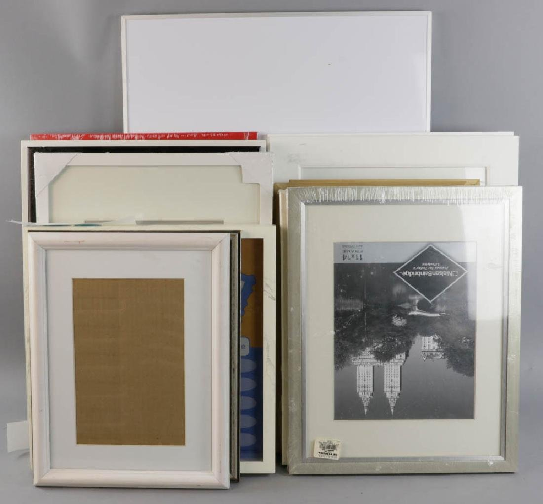 Picture Frames and Shadow Boxes