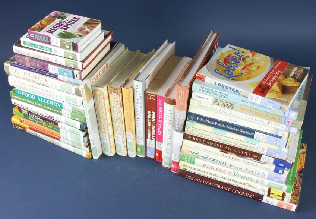 Cookbooks from Martha Stewart Library - 2