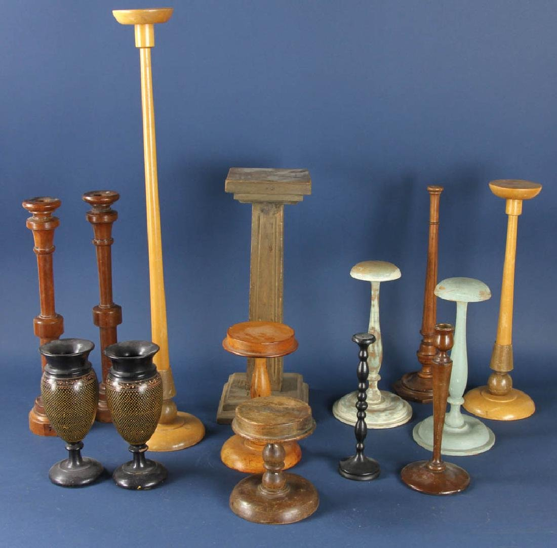 Collection of Wooden Ware
