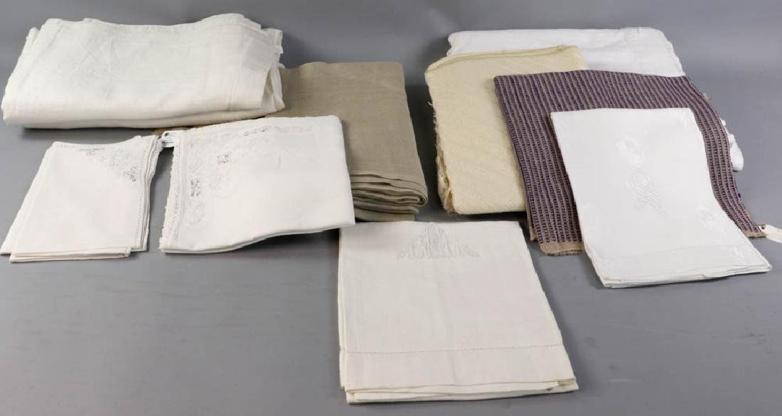 Table Linens and Drapery Panels