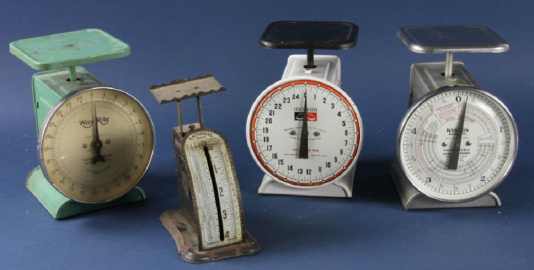 Group of Vintage Scales