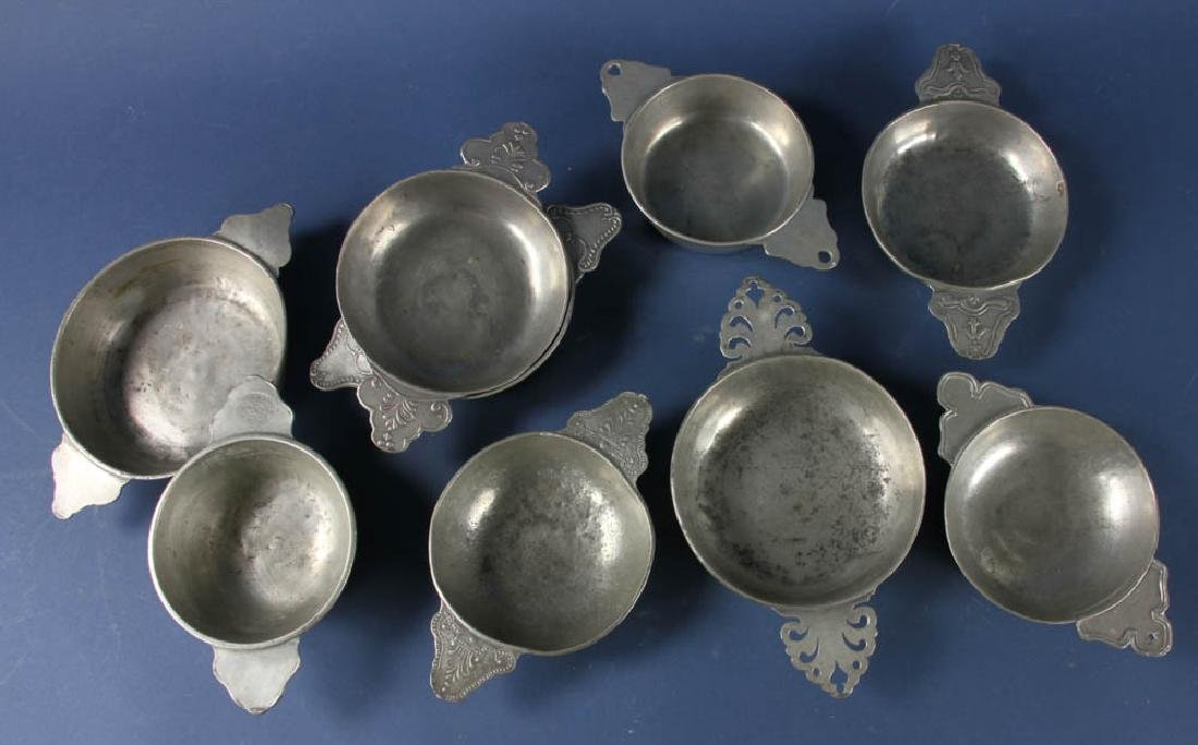 Group of 18th/19thC Pewter Items - 2
