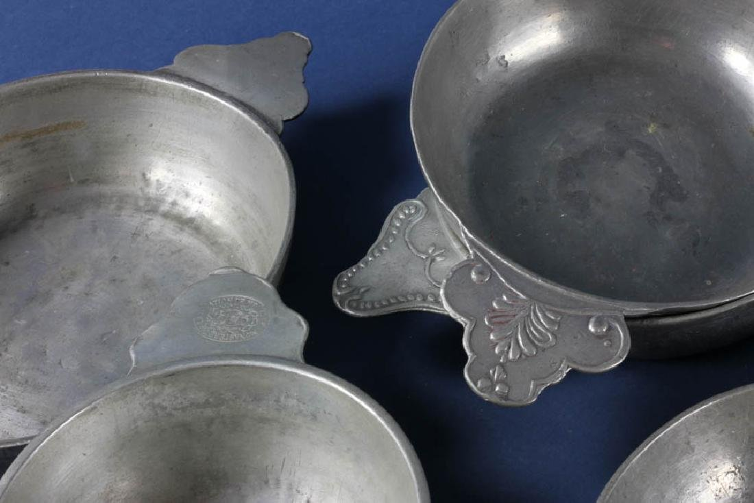 Group of 18th/19thC Pewter Items - 3