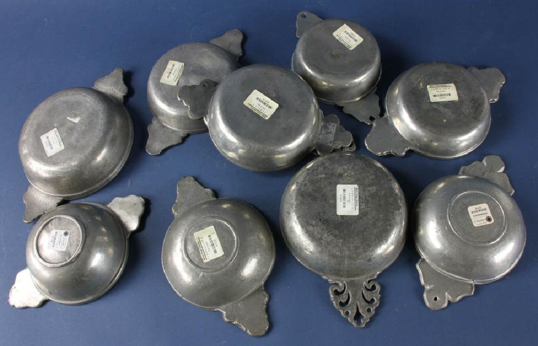 Group of 18th/19thC Pewter Items - 4