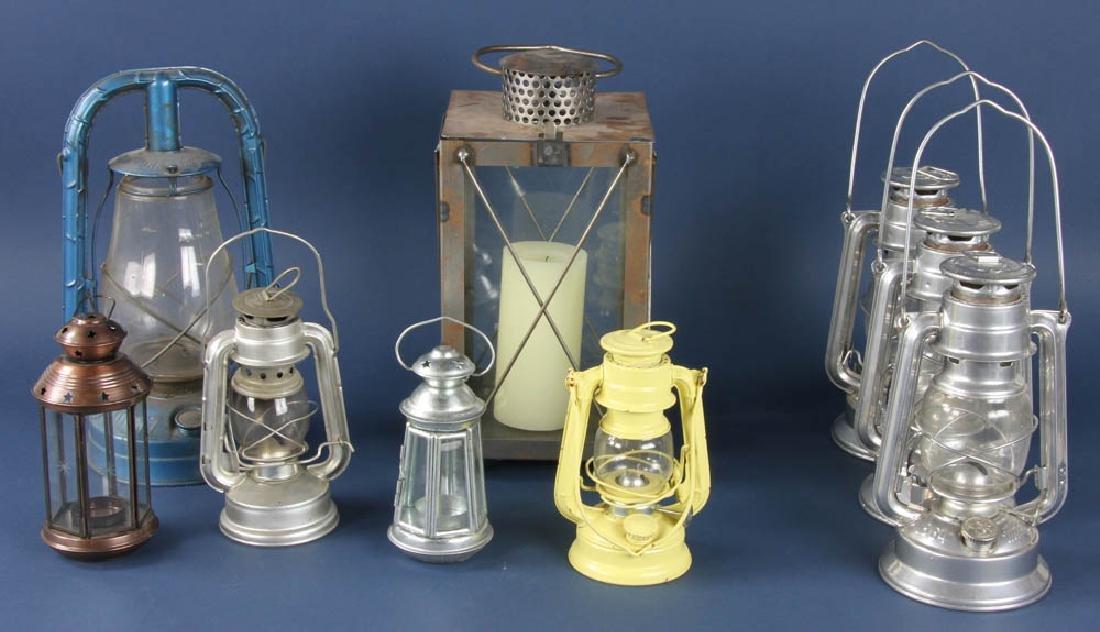 Group of Nine Lanterns