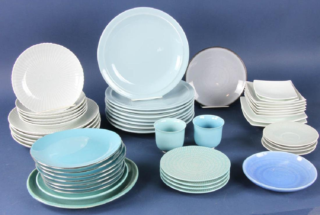 Assorted China, Cup, Plates
