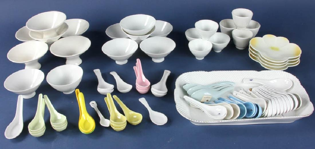 Group of Asian Spoons and Cups