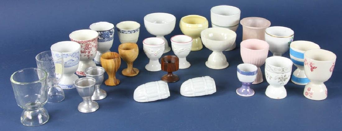 Collection of Assorted Egg Cups
