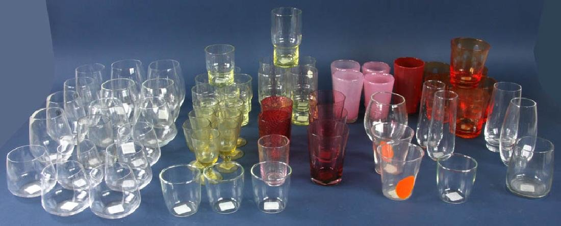 Group of Assorted Vintage Glasses